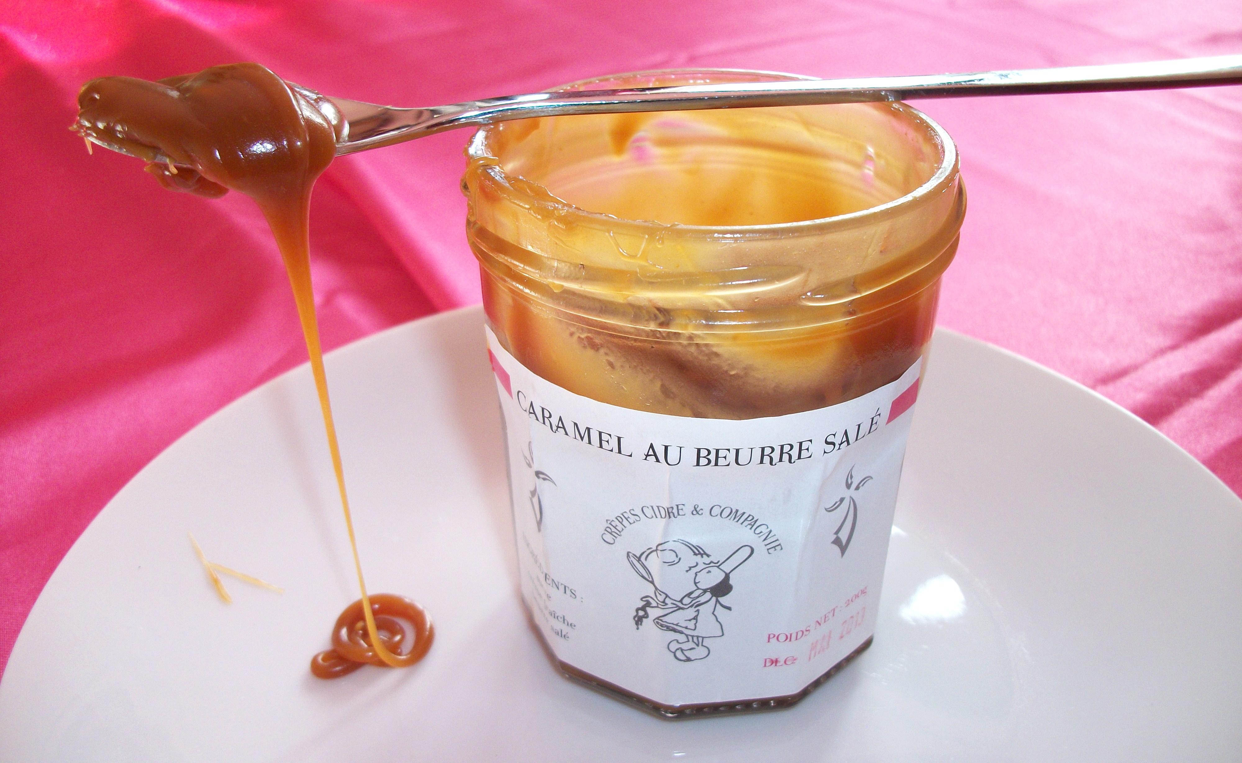 Caramel au beurre salé fait maison