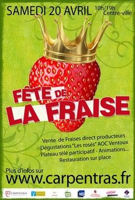 Fête de la fraise Carpentras 2013
