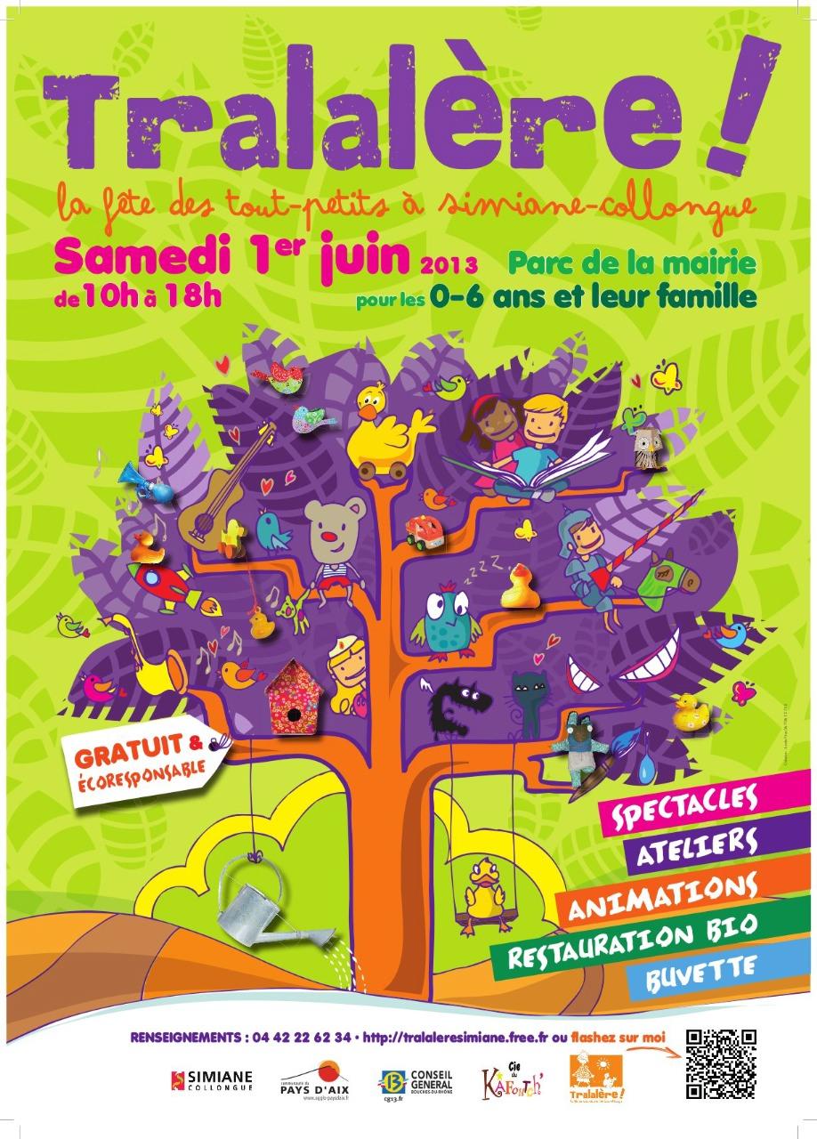 Affiche Tralalère 2013