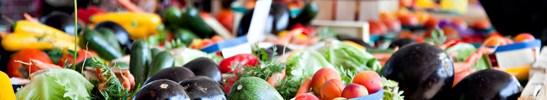 Etale de legumes