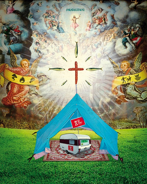 Yes we camp ex voto - Bonne mère