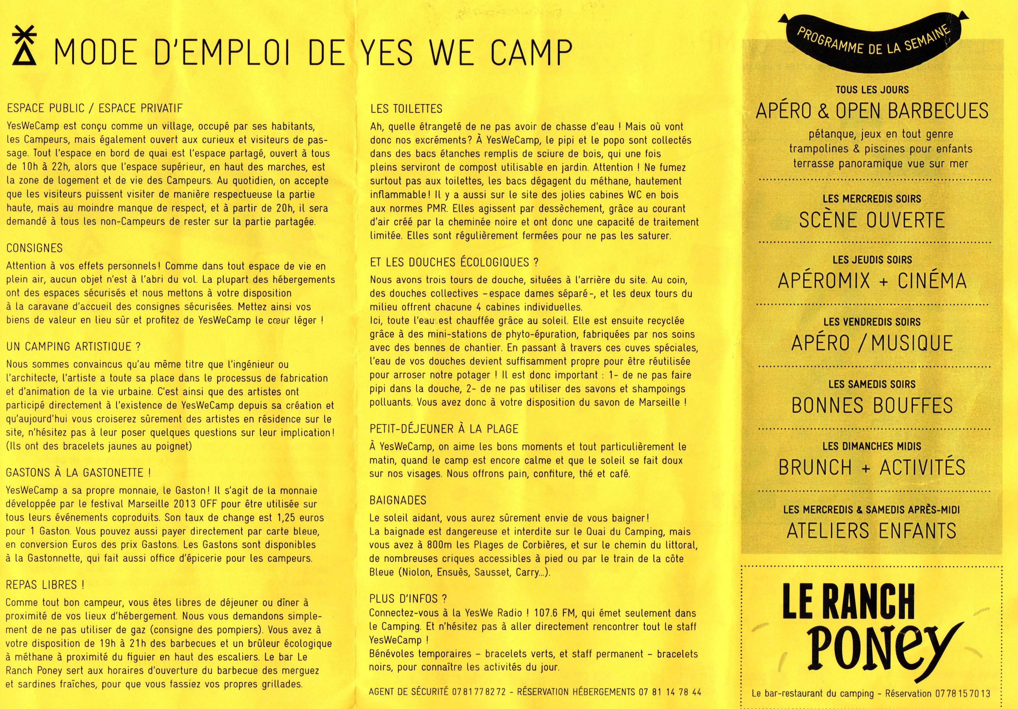 Yes we mode d'emploi