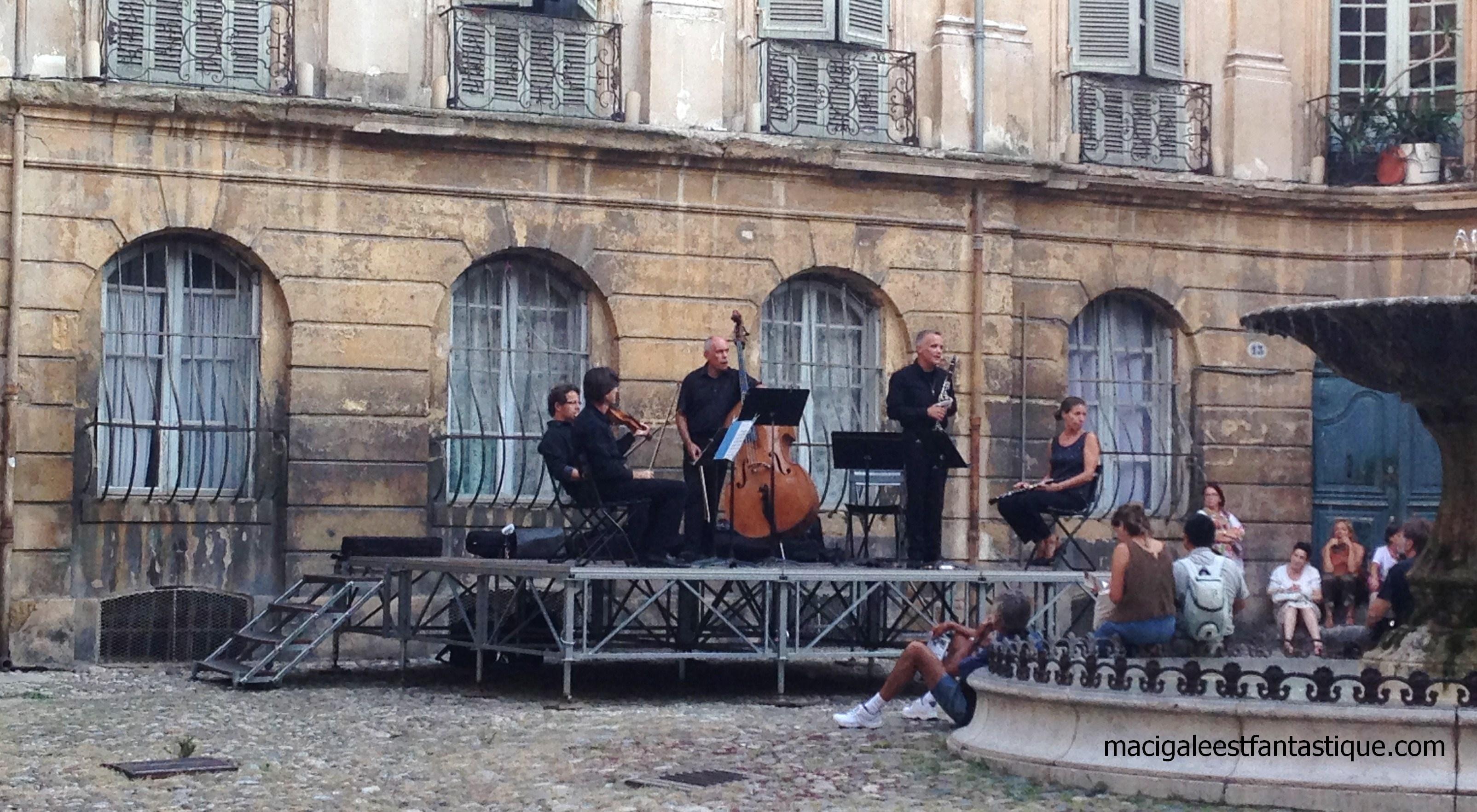 Concert du conservatoire Darius MIlhaud