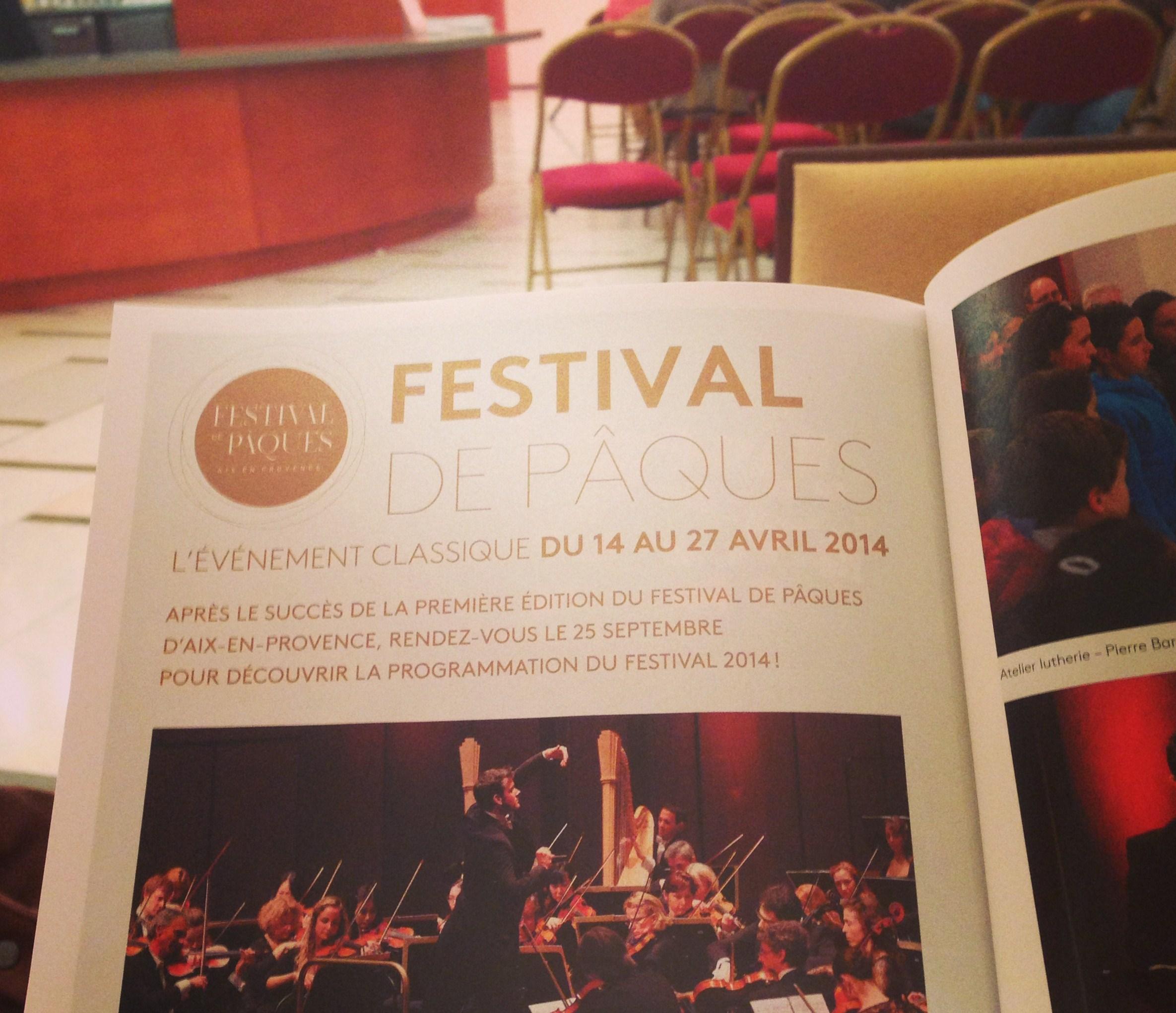 Festival de Paques 2014
