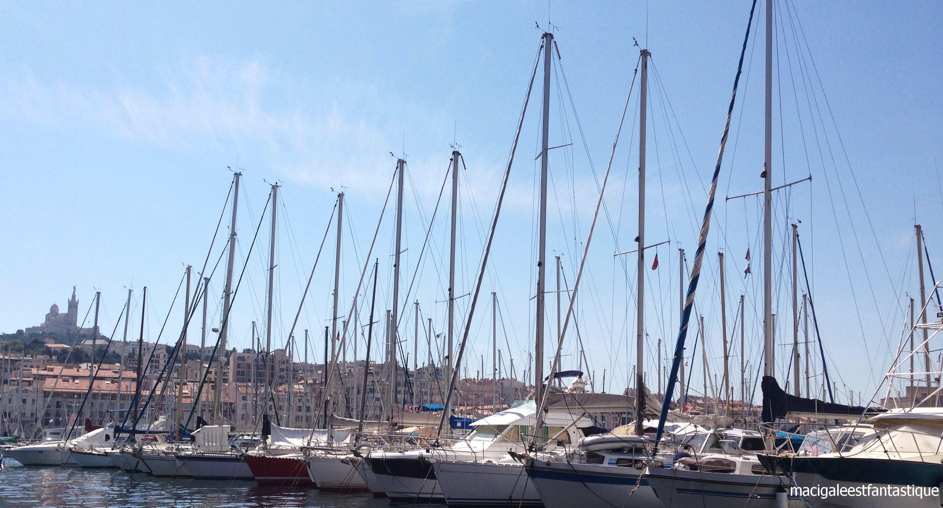 Flotille Marseille le Vieux Port
