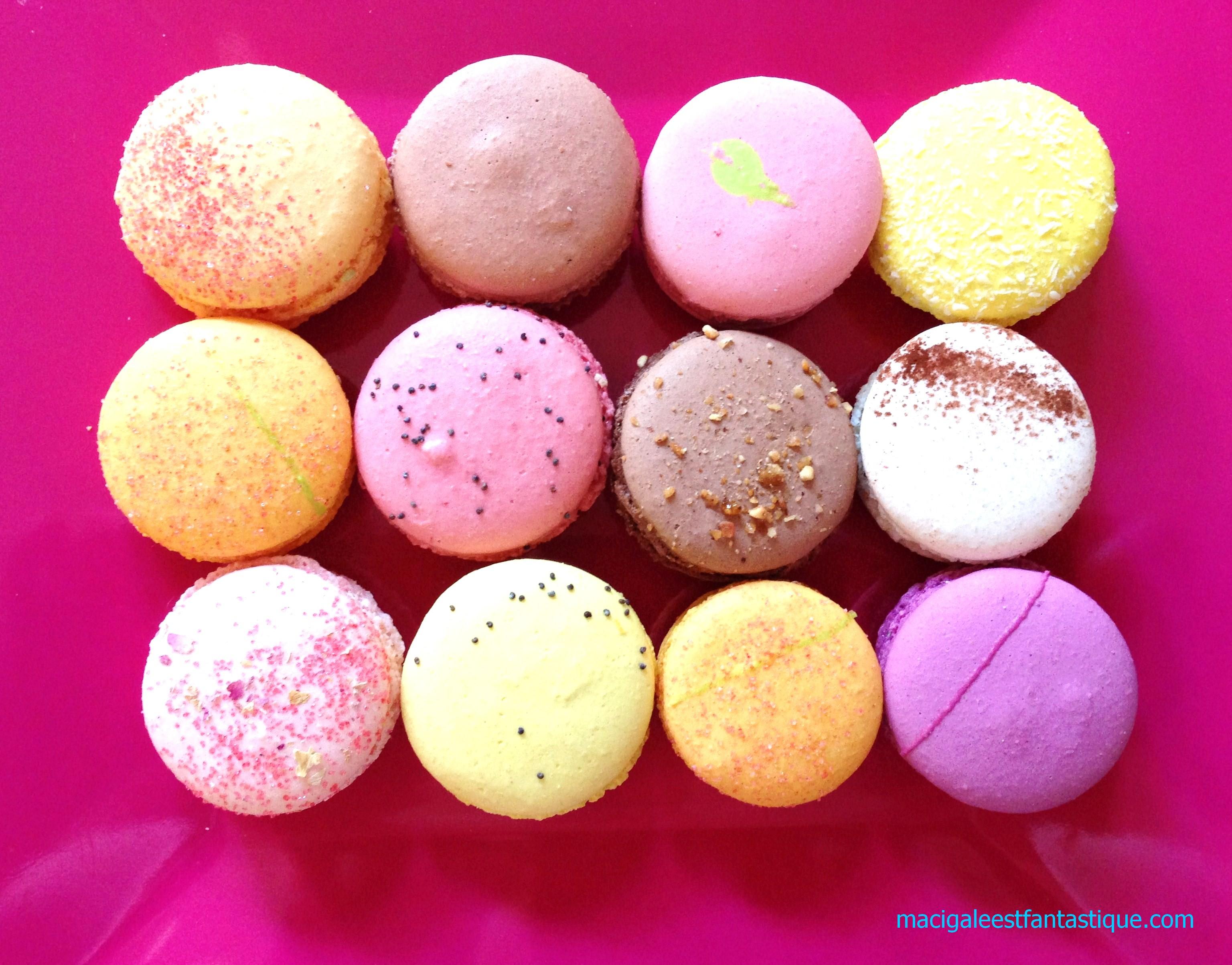 Les macarons de Caroline