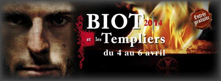 Biot et les templiers 2014