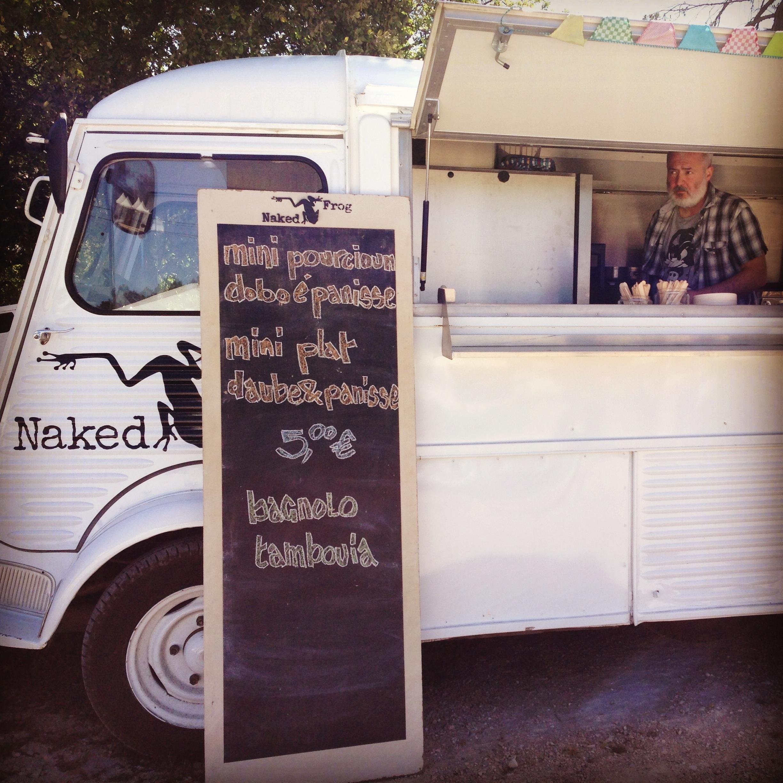 La Grenouille Naked Frog / Food Truck / street food