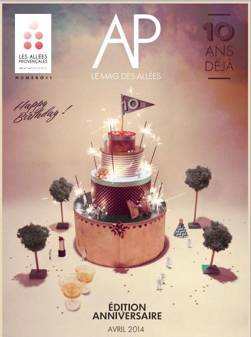 Les Allées Provençales - anniversaire