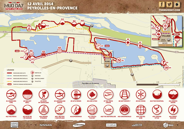 The Mud Day - Parcours Peyrolles en Provence