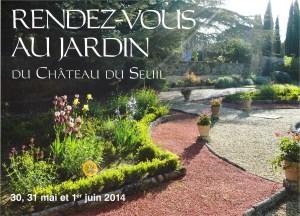 Château du Seuil Rdv Au Jardin
