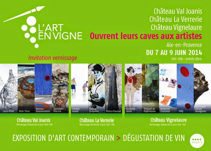 L'Art en Vigne - flyer recto