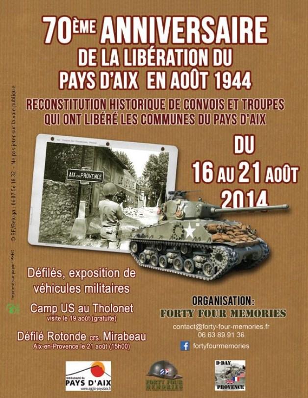 Convoi de la libération en Pays d'Aix