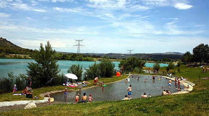 Lac de Peyrolles -paysdaix.blogspot.fr