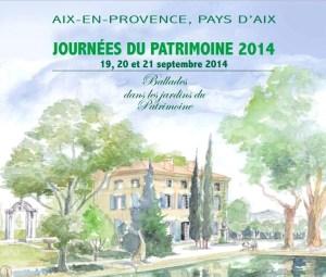 Journées du Patrimoine 2014 Aix en Provence