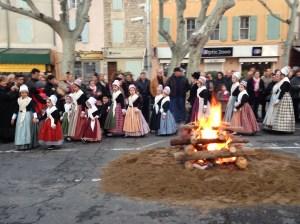 Le Feu de la Saint Jean d'hiver - St Rémy de Provence