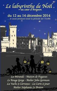 Le labyrinthe de noël - Avignon