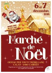 Marché Noël - Cabries Calas