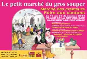 Le petit marché du Gros souper - St Rémy de provence