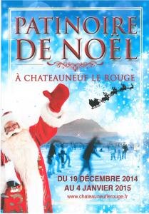 Patinoire de Noël - Chateauneuf le Rouge